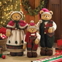Happy Christmas Bear Family
