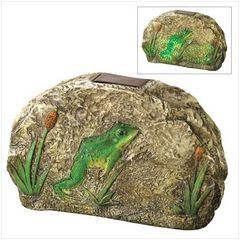 Magic Motion Frog Garden Stone