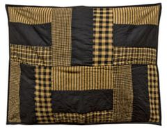 "Delaware Star Quilted Sham - 21""x27"""