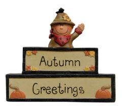 Autumn Greetings Block