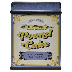 Almond Butter Pound Cake Farm Fresh Baked Goods 28 oz.
