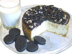"Cookies-N-Creme Cheesecake - 9"" size (serves 8-10)"