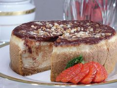 "Turtle Praline Cheesecake - 7"" Size (Serves 6-8)"