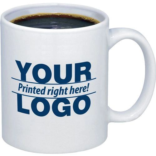 New Custom Personalized Ceramic 15oz Photo Logo Coffee Mug