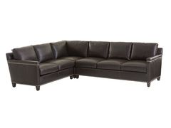Strada Sectional leather