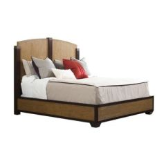 Montaigne wood Bed