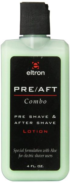 Eltron Pre Aft Combo Pre Shave After Shave Lotion Shav Tronics