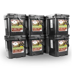480 Serving Meat Package Includes: 8 Freeze Dried Meat Buckets