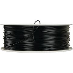 VERBATIM 55250 1.75mm PLA 3D Printer Filament, 1kg Reel (Black)