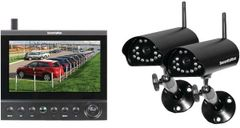 SecurityMan - Digital Wireless Cameras LCD/DVR System