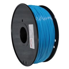ABS-Glow-BU-1.75-1.0 Gloin the Dark Seires 3D 1.75mm Filament ABS Print Materials - Blue (400m)