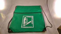 Green Cinch Bag