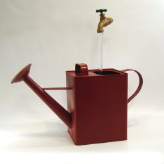 Square Watering Can Fountain