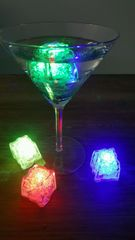 LED Ice Cubes/ Pkg. of 4
