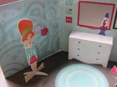 Pop Up Dolls - Bedroom