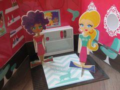 Pop Up Dolls: Salon
