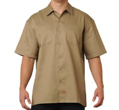 FB County Men's Short Sleeve Work Shirt Kackie