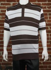 FB County Men's Charlie Brown Shirt Brown/White