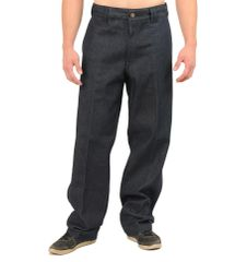 FB County Men's Hard Denim Pant Indigo Blue