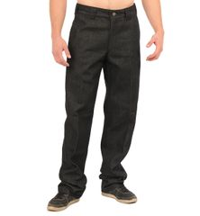 FB County Men's Hard Denim Pant Indigo Black