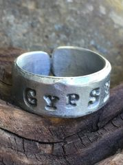 GypSEA Adjustable Pewter Ring