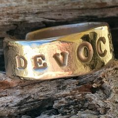 DevOCEAN Adjustable Bronze Ring