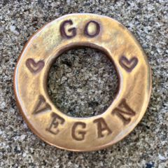 Go Vegan/Love All Animals SurfToken™ in Bronze