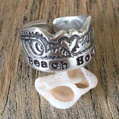 YOUR Beach/Surf Break Custom Cuff Rings