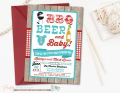 Beer BBQ and Baby Shower, Coed Baby Shower, Couples Baby Shower, Babyq, BBQ Shower, Joint Baby Shower, Rustic Baby Shower