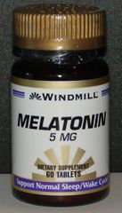 Windmill Melatonin 5mg 60ct