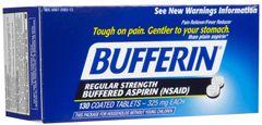 Bufferin Regular Strength Aspirin 325mg Tablets 130ct
