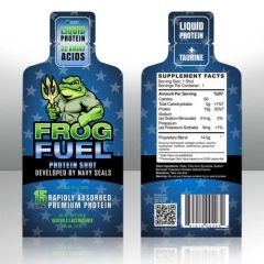FrogFuel Protein Shot 24ct Box -Berry Flavor-