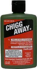 Chigg Away Repellent and Itch Relief from Chiggers, Mosquitoes, Ticks 4oz