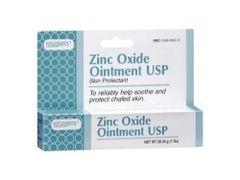 Fougera Zinc Oxide Ointment for Diaper Rash & Poison Ivy 1oz Tube