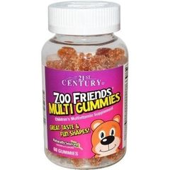 21st Century Zoo Friends Multi Gummies, Children's Multivitamin/Multimineral 60ct