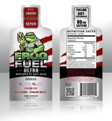 FrogFuel Ultra Energized Protein Shot 24ct Box -Citrus Flavor-
