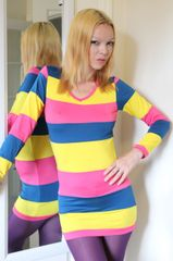 Bright Multi Color Dress