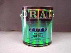 Draw Tite Clear No Run 325-NR (1) gallon.