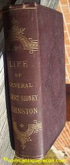 LIFE OF GENERAL ALBERT SYDNEY JOHNSTON - JOHNSTON