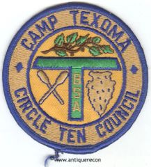 BSA CIRCLE TEN COUNCIL CAMP TEXOMA PATCH