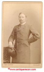 GERMAN MASON CDV PHOTO - 1866 - NAMED