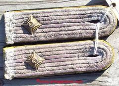 WW II GERMAN WAFFEN SS SIGNALS 1st LIEUTENANT SHOULDER BOARDS