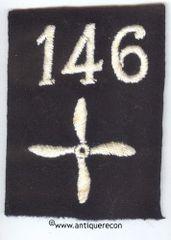 WW I US 146th AERO SQUADRON ENLISTED SLEEVE INSIGNIA