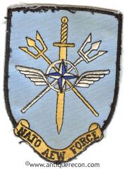 US NATO AIRBORNE EARLY WARNING FORCE PATCH
