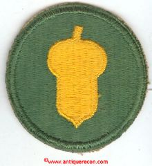 WW II US ARMY 87th INFANTRY DIVISION PATCH