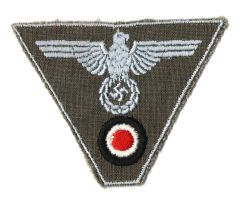 WW II GERMAN CAP EAGLE TRAPEZOID