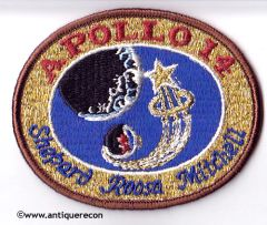 NASA APOLLO 14 MISSION PATCH - SMALL