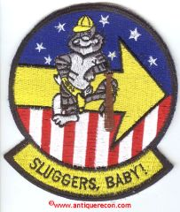 US NAVY VF-103 SLUGGERS, BABY! PATCH