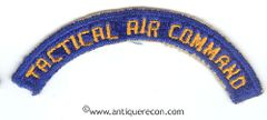 WW II US ARMY AIR FORCE TACTICAL AIR COMMAND ARC