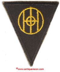 WW II US ARMY 83rd INFANTRY DIVISION PATCH
